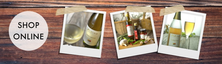 wines and product in our cellar door